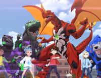 Bakugan Battle Planet : Sabrus, le Bakugan fusionné