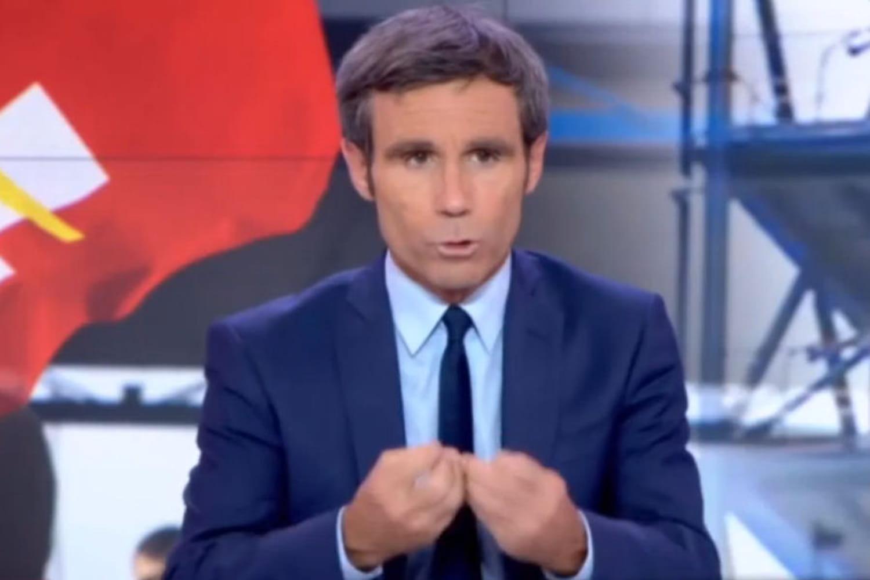 David Pujadas pousse un coup de gueule en direct dans le JT de France 2 [VIDEO]