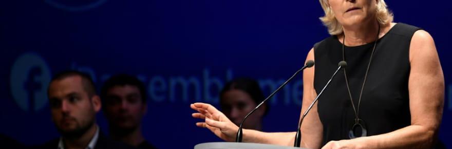 Marine Le Pen s'indigne d'un examen psychiatrique la visant