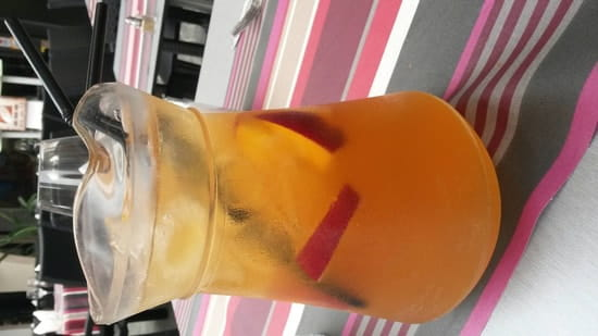 Boisson : La Llonja  - Pichet champ'an (sangria + champagne)  -