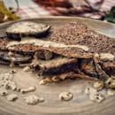 Plat : Crêperie L'Épi de Blé - Cap Malo  - Galette andouille et moutarde à l'ancienne -   © -