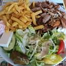 Plat : Knossos  - Une plaka copieuse et  délicieuse !!! -