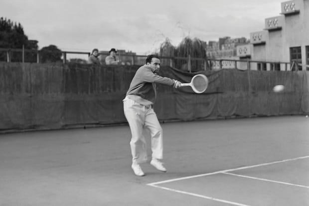 Mitterrand tennisman