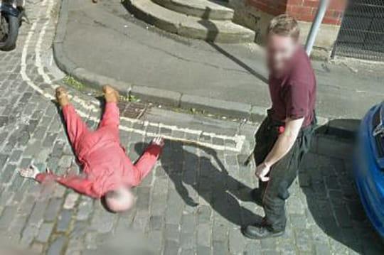 Les images d'un meurtre sur Google Street View
