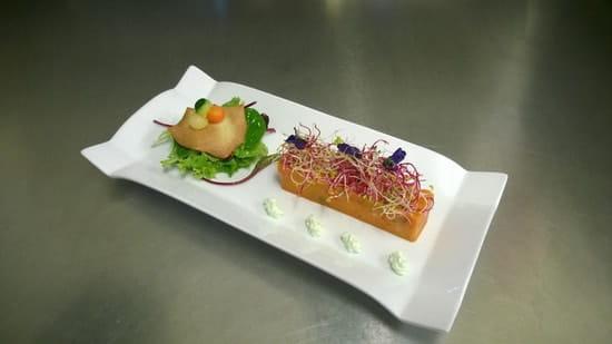 Le Bistrot Gourmand  - Glacé de Lotte aux Petits Légumes -