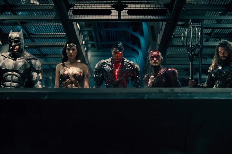 Aquaman s'affiche avant la bande-annonce — Justice League