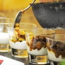 Instants d'Absolu - Ecolodge du Lac du Pêcher  - Verrine de coings et noix caramélisés, onctueux à la vanille -   © DENIS POURCHER