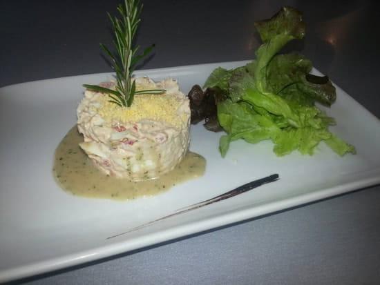 Entrée : Restaurant le M  - Oeuf mimosas au thon -