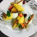 Dessert : Le relais de poste  - tarte citron déstructurée -   © LRDP18250