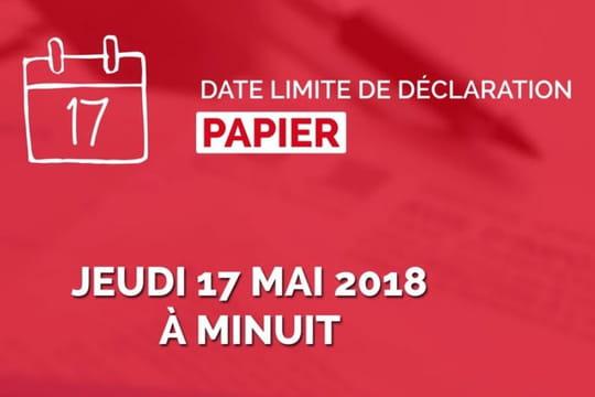 Date limite impôt: les échéances en ligne et papier, par département