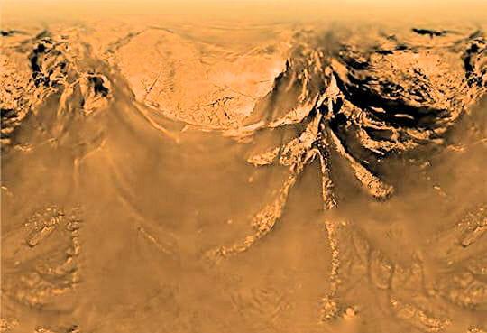 Topographie Titan