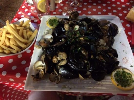 Plat : Le pignon  - Parillada de crustacés  -