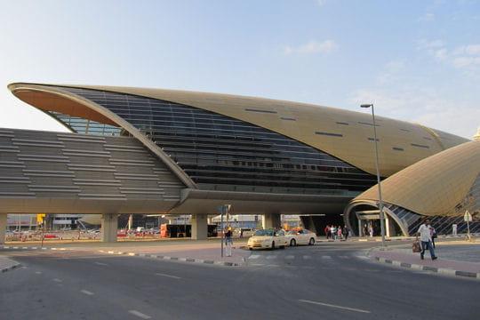 Jebel Ali Free Zone sur le métro de Dubai