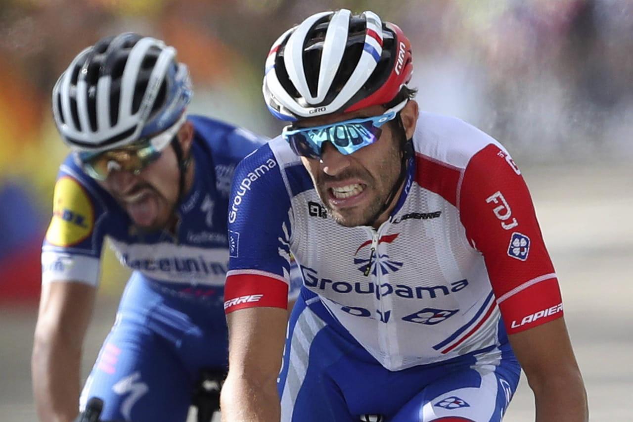 Tour de France: l'étape pour Pinot, Alaphilippe impressionne, le classement de l'étape