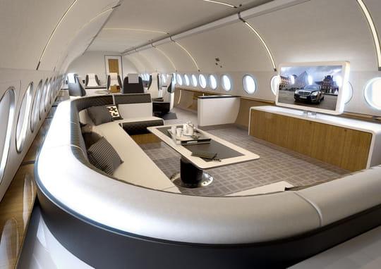 Visitez les jets privés les plus luxueux du monde