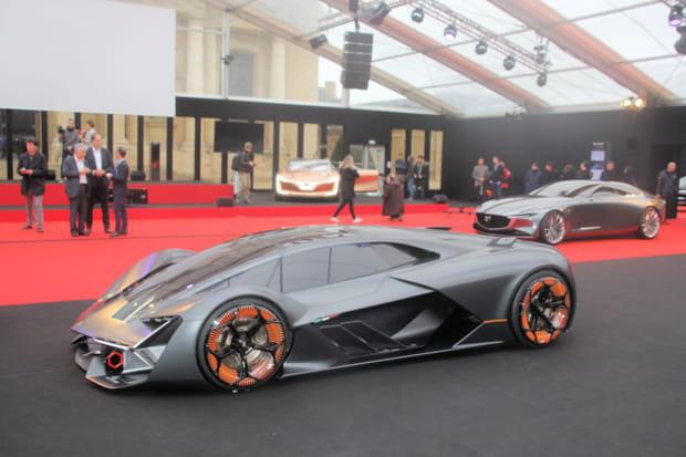 La Lamborghini Terzo Millenio est à Paris