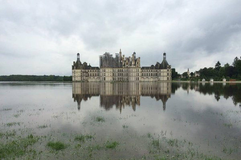 Inondation à Chambord: le château submergé lui aussi [PHOTOS]