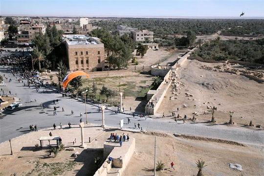Pour la première fois à Damas