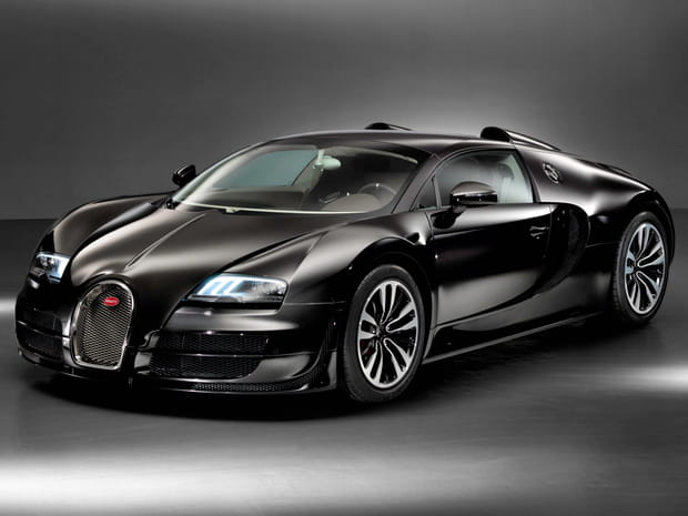 Bugatti Veyron à Molsheim