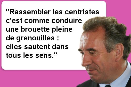 Bayrou et les grenouilles