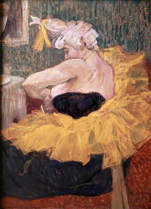 La Clownesse Cha-u-kao - Henri de Toulouse-Lautrec