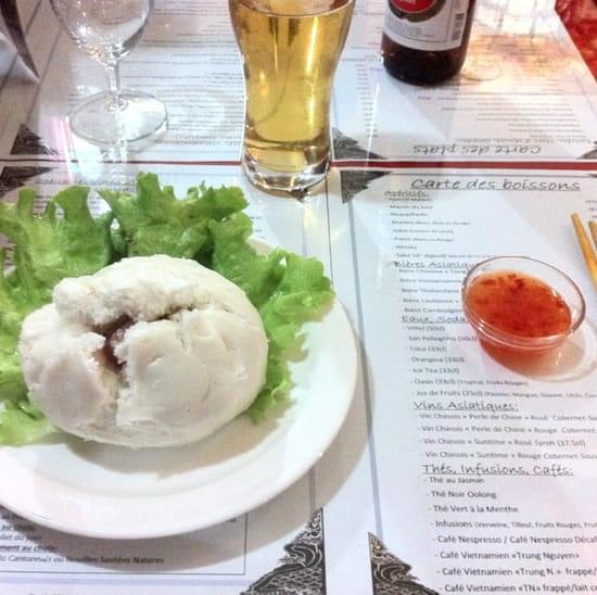 Entrée : Le Saigon  - Banh Bao -