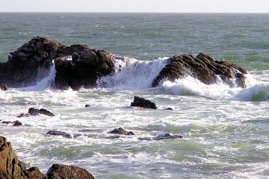 La côte sauvage entre Le Croisic et Le Pouliguen