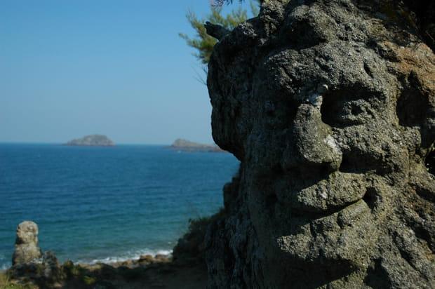 Les rochers sculptés de l'abbé Fouré en Ille-et-Vilaine