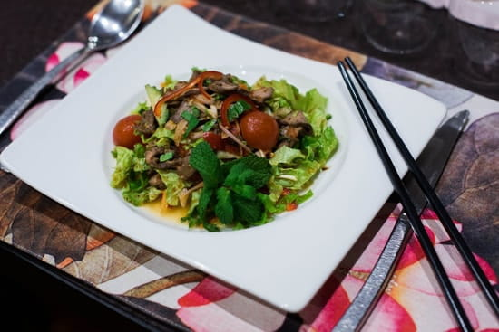 Koh Samet  - Salade de boeuf grillé à la citronnelle -
