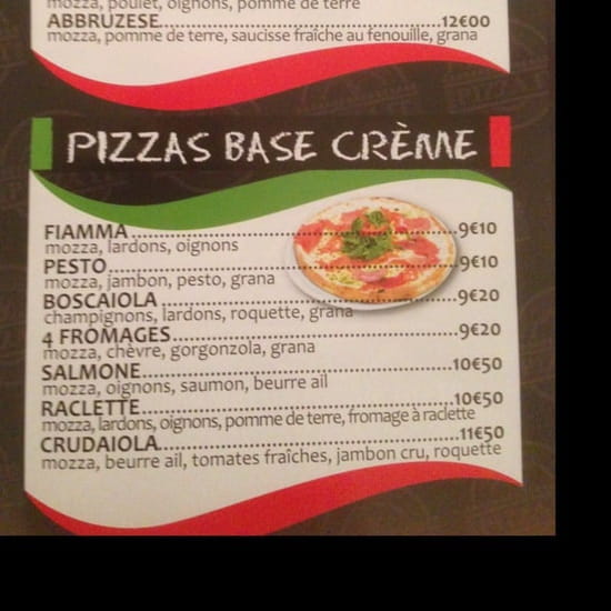 Plat : Pizza It  - Carte -