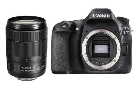 Bon plan soldes appareil photo: un pack avec le Canon EOS 80D à seulement 899euros