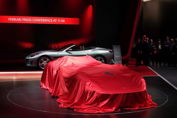 Les Ferrari Monza dévoilées au Mondial de l'Auto