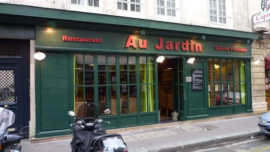 Au Jardin Restaurant De Cuisine Traditionnelle Paris