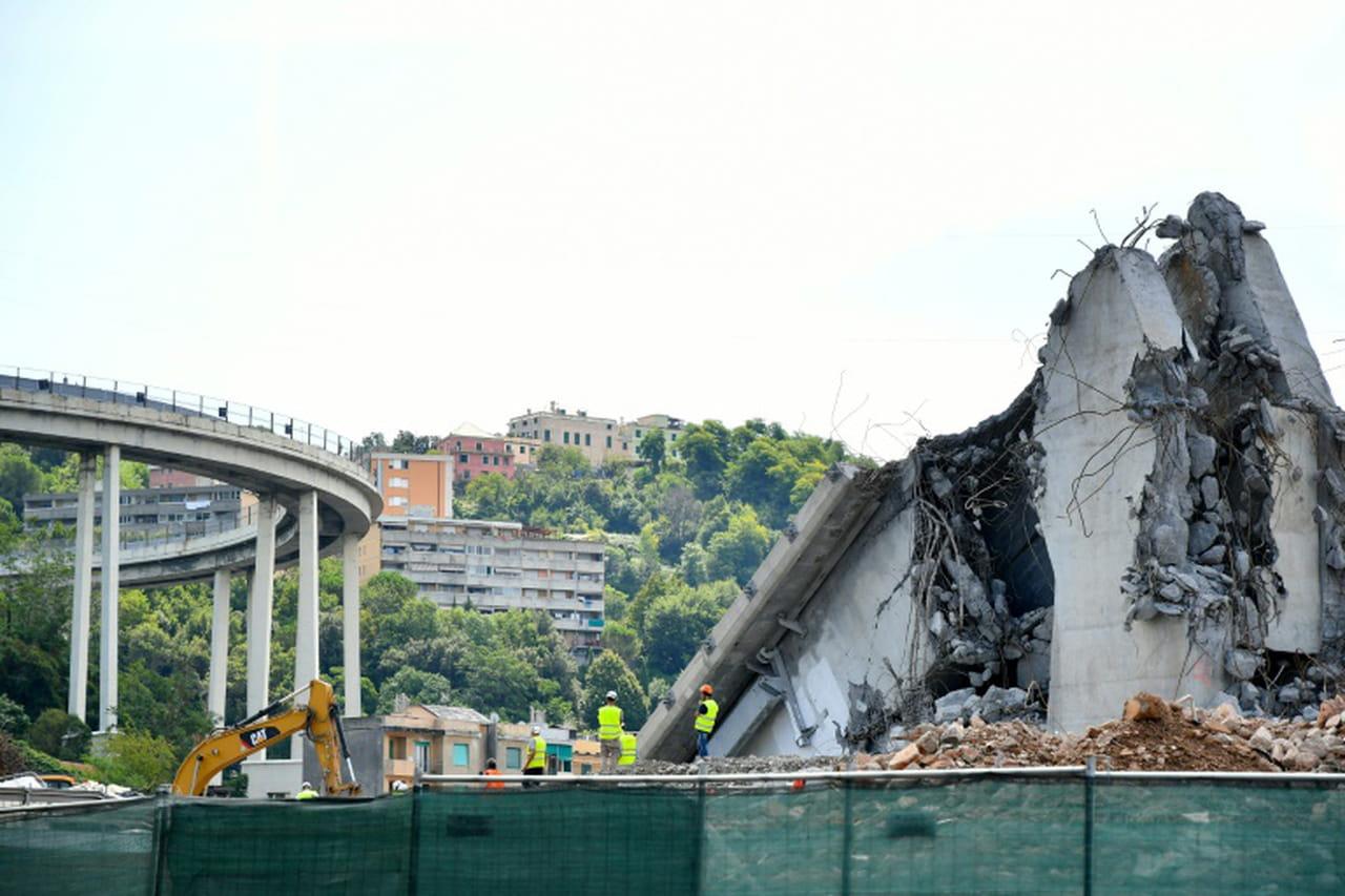L'Italie commémore l'écroulement du pont de Gênes et ses 43morts, un an après