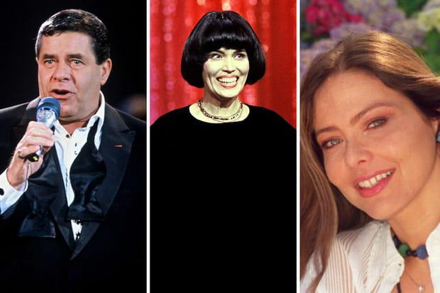1991: Jerry Lewis, Mireille Mathieu et Ornella Muti – 38650000euros