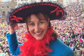Ségolène Royal star du carnaval de Dunkerque