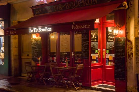 Restaurant : Le Tir Bouchon Montorgueil  - terrasse -   © Copyright*