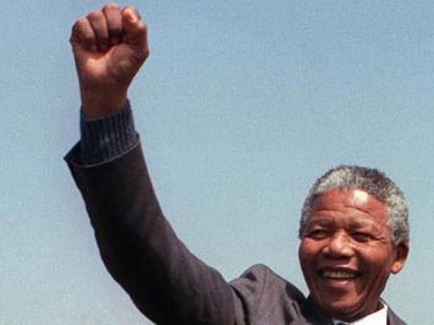 La vie de Nelson Mandela en images
