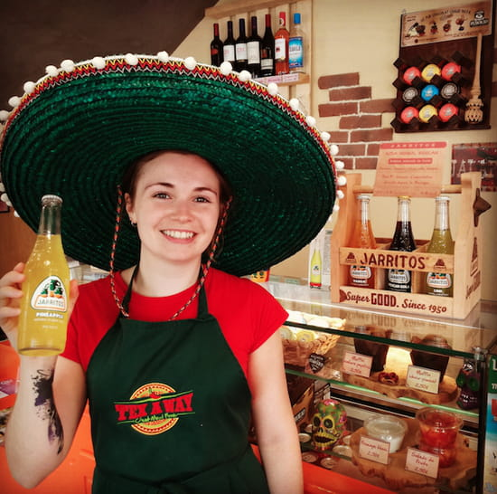 Boisson : Tex A Way  - Jarritos - Soda mexicain avec un arôme naturel -   © #TEXAWAYOFLIFE