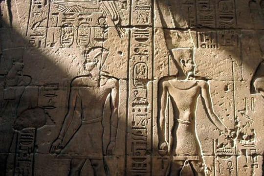 La salle hypostyle du grand temple d'Amon