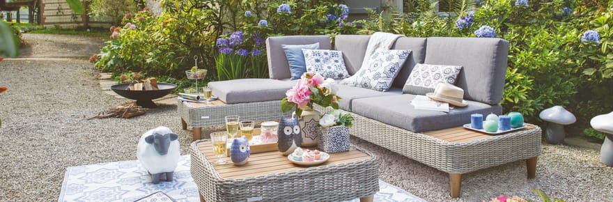 Notre sélection de mobilier de jardin pour profiter des beaux jours
