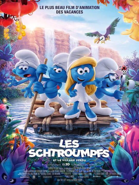 Les Schtroumpfs Et Le Village Perdu Bande Annonce Du Film Seances