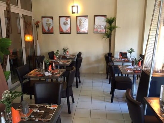 Restaurant : Le Patio de la Mer  - Terrasse couverte -