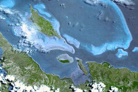 Panoramique des lagons de Nouvelle-Calédonie