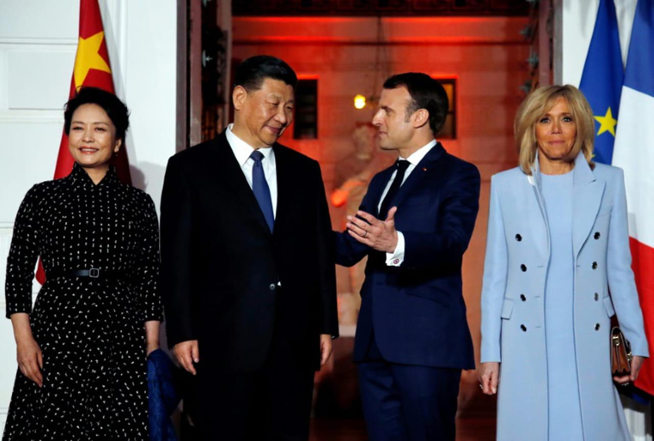 Le président Xi reçu par Emmanuel Macron pour un dîner privé, après une étape à Monaco