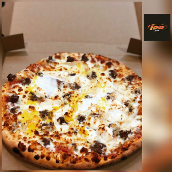 Restaurant : Rapido Pizza  - Pizza Texane -   © Rapido pizza