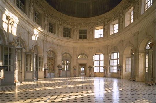 Coloriage Chateau Vaux Le Vicomte.Le Grand Salon