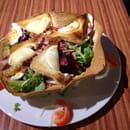 Plat : Brasserie La Plage  - Voici la salade du berger.., bon appetit -