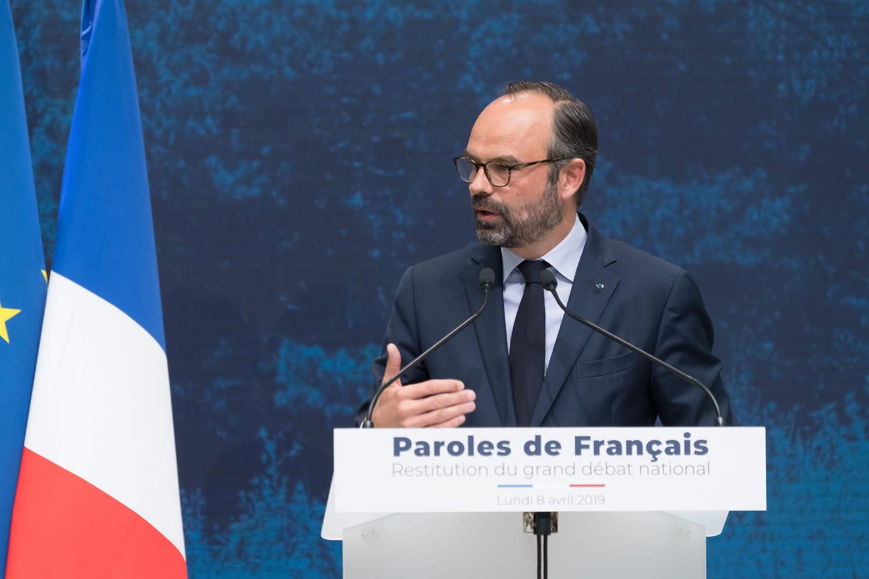"Grand débat national: les ""quatre axes"" retenus par Philippe"
