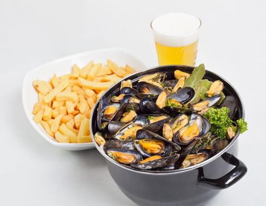 Brasserie l'Océan  - Les marmites de Moules -